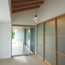 吉野町の家 (和室)