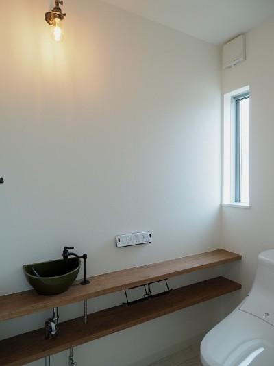 吉野町の家 (トイレ)