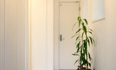 玄関ホール|ヨーロピアンシンプルハウス
