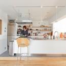 シンプルハウスの住宅事例「暮らしと道具とキッチン」