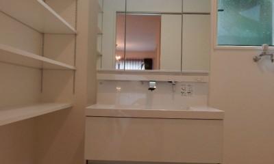 洗面・脱衣室|ヨーロピアンシンプルハウス