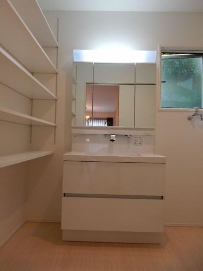 洗面・脱衣室 (ヨーロピアンシンプルハウス)