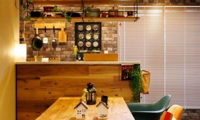 あこがれのカフェを住まいに (こだわりのカフェ空間)