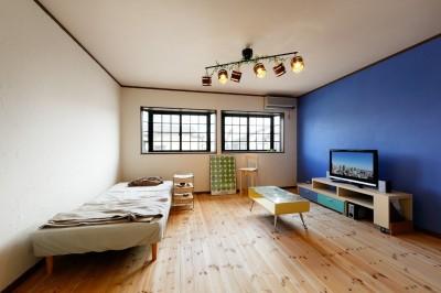 DIYスペース (あこがれのカフェを住まいに)