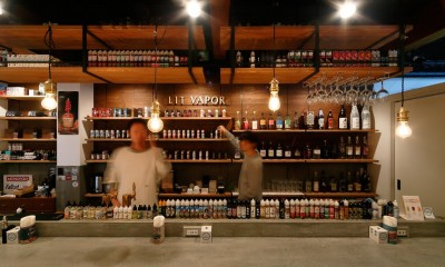 VAPE BAR『LIT VAPOR VAPE Bar & Lounge』