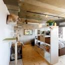 アートリフォームの住宅事例「猫と暮らす無垢フローリングの家」