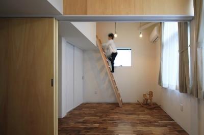 子供部屋 (五十町の家~家族がくつろぐ家~)