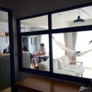 『a continue』 ― 「これから」を描く部屋の写真 ワークスペース室内窓