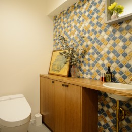 『a continue』 ― 「これから」を描く部屋 (トイレ)