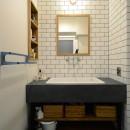 『a continue』 ― 「これから」を描く部屋の写真 洗面・化粧台