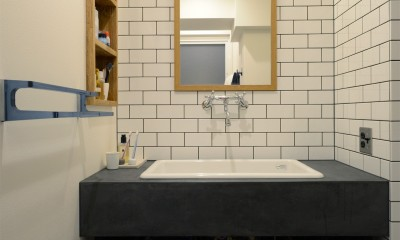 洗面・化粧台|『a continue』 ― 「これから」を描く部屋