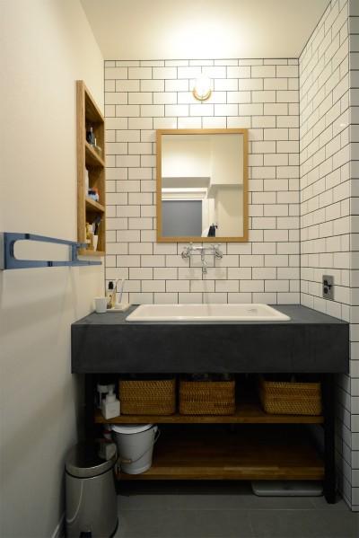 洗面・化粧台 (『a continue』 ― 「これから」を描く部屋)