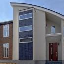 滝沢伸夫の住宅事例「都内郊外型、1種低層の重厚な家」