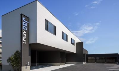 J-office「水平と垂直の建築」 (J-office「水平と垂直の建築」)