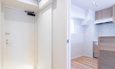 ハンモックのある部屋 (玄関)