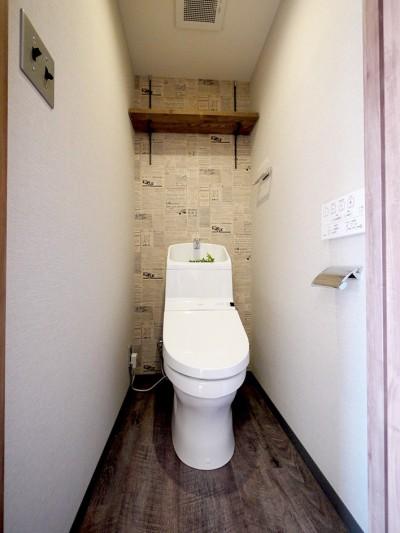 トイレ (NY ブルックリンスタイル)