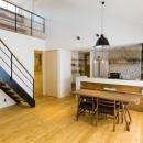 RenoCraft リノクラフトの住宅事例「Kolmio - 三角屋根が特徴的な平屋みたいな2階建て」