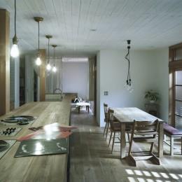 O邸-趣味とともに暮らす。リビングを充実した生活空間に (リビング)