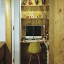 O邸-趣味とともに暮らす。リビングを充実した生活空間にの写真 ワークスペース