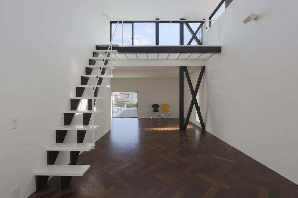 2階リビングの家 ハコノオウチ08 (2階リビング)