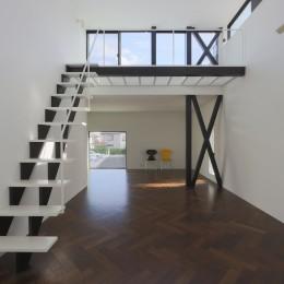 2階リビングの家 ハコノオウチ08