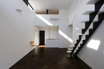 2階リビング (2階リビングの家 ハコノオウチ08)