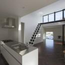 2階リビングの家 ハコノオウチ08の写真 キッチン