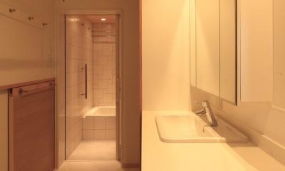 洗面所|松ヶ崎の家2
