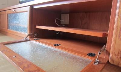 オーダーメイド家具で作る、私たちらしい空間 (リビング)