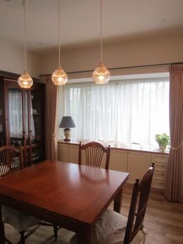 オーダーメイド家具&無垢材でお好みのインテリアに合う空間に (ダイニング)