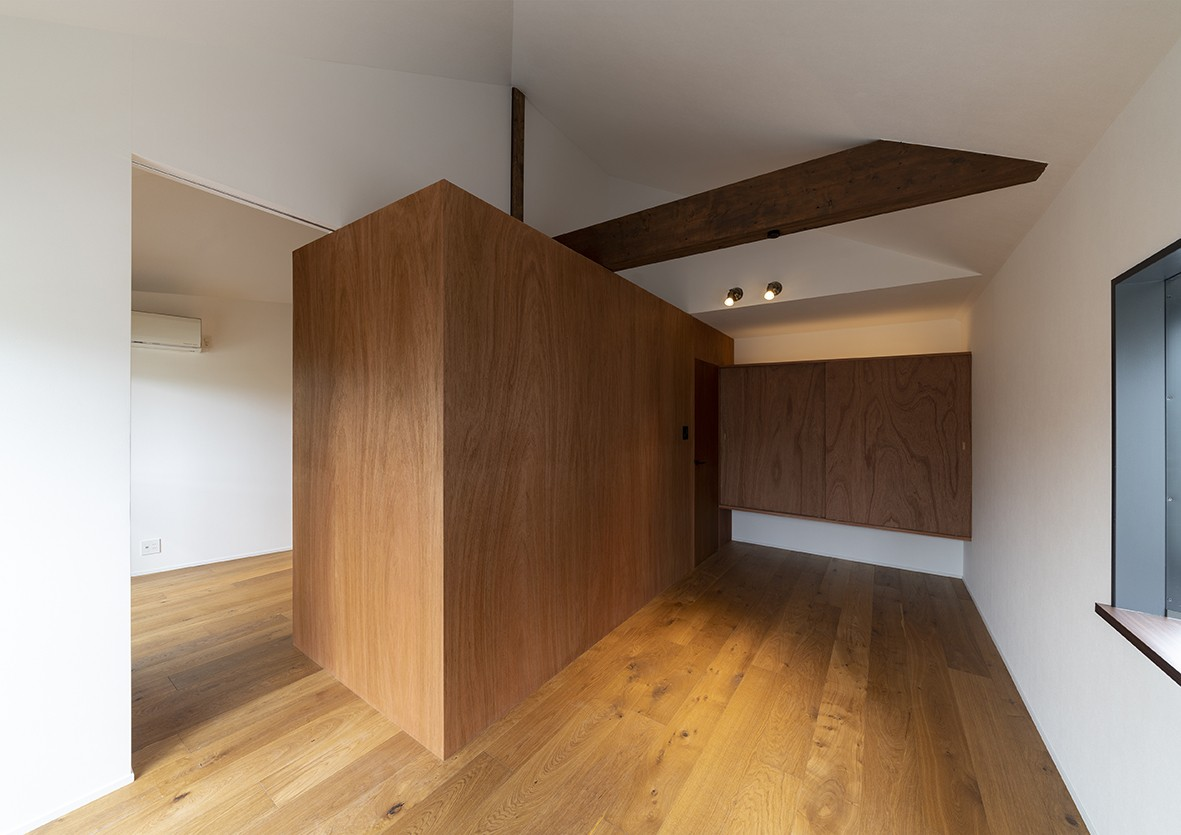 ベッドルーム事例:room2(豊中の家(リノベーション))