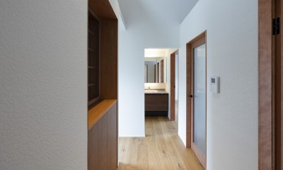 2階ホール|豊中の家(リノベーション)