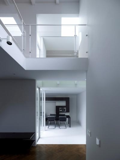 Roji-house (リビング)