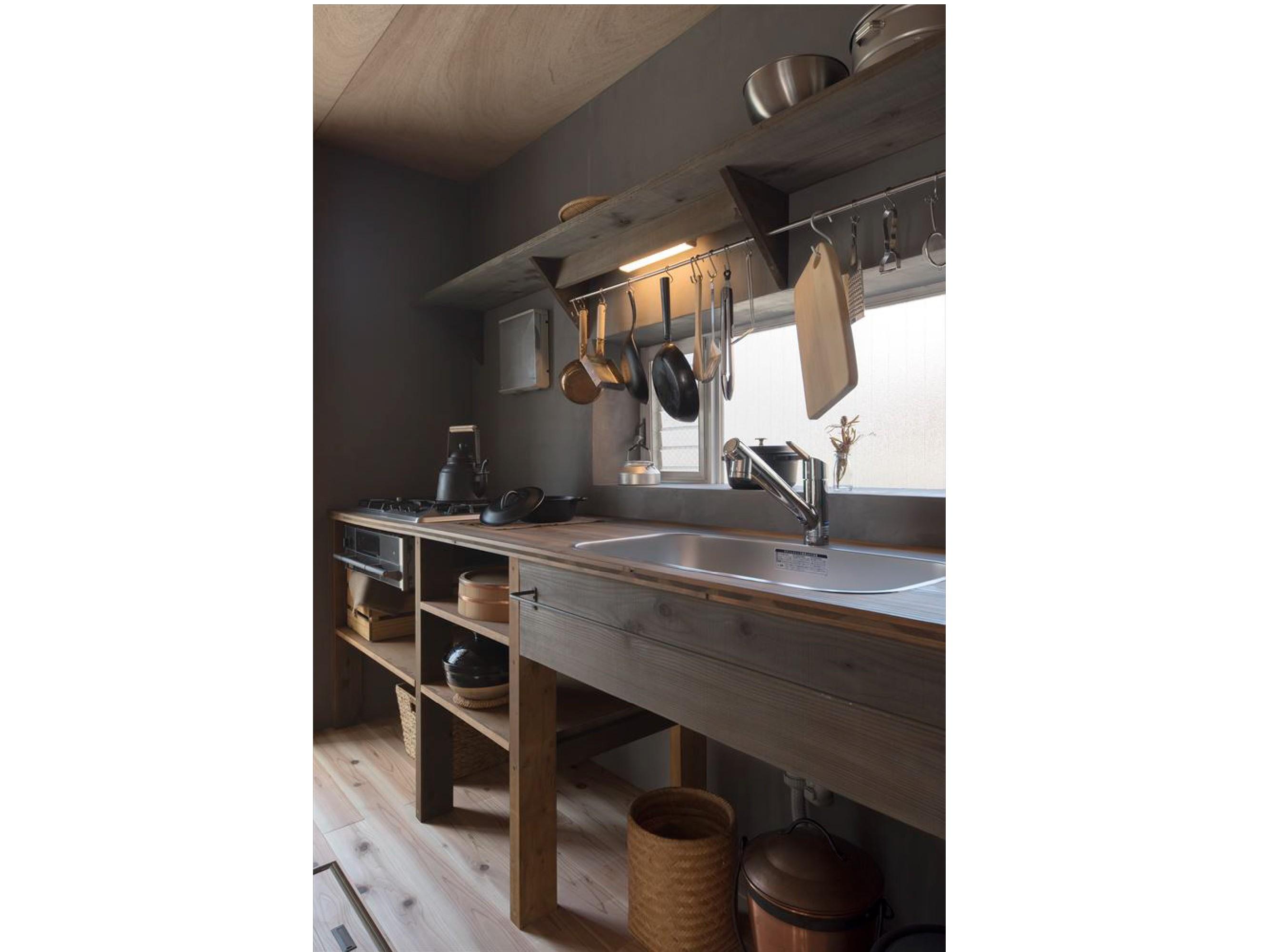 キッチン事例:出会うべき住まい キッチン 2(出会うべき住まい)