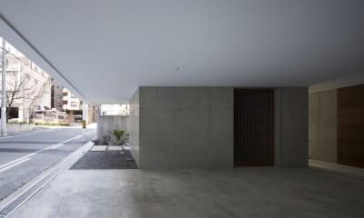 清水谷の家 (ガレージ)