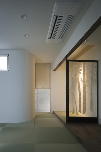 和室 (清水谷の家)