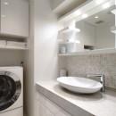 港区 A 邸[スケルトンリフォーム]の写真 洗面所