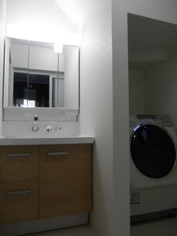 あま市 W様邸 住宅改装(キッチン・洗面台・バス・トイレ) (洗面台)