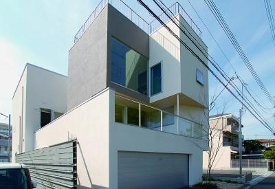 外観 (帝塚山の家)