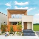 グランハウス一級建築士事務所の住宅事例「鉄骨階段があるやさしい木の家」