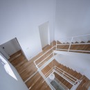 帝塚山の家の写真 吹抜階段