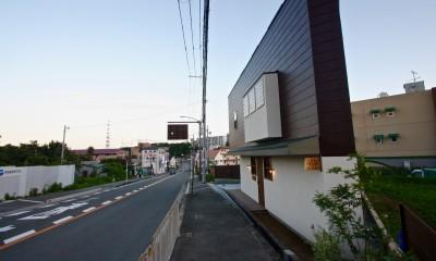箕面の家:大阪.箕面の店舗付き住宅