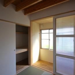 箕面の家:大阪.箕面の店舗付き住宅 (寝室)