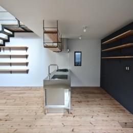 天神橋の家:大阪の注文住宅