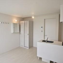 芦屋のアパートメント:デザイナーズ賃貸住宅 大阪の設計事務所