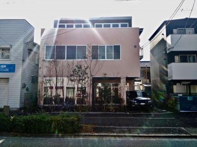 外観 (尼崎のデザイン事務所:鉄骨造3階建て新築 大阪の設計事務所)