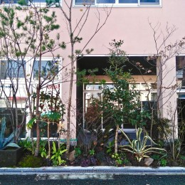尼崎のデザイン事務所:事務所+テナント+トレーニングジム