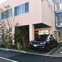 尼崎のデザイン事務所:鉄骨造3階建て新築 大阪の設計事務所