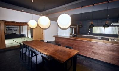 生駒山荘の別荘リノベーション(外国人家族):大阪 中古住宅のリノベーション