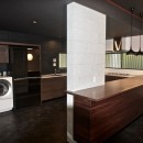 生駒山荘の別荘リノベーション(外国人家族):大阪 中古住宅のリノベーションの写真 キッチン